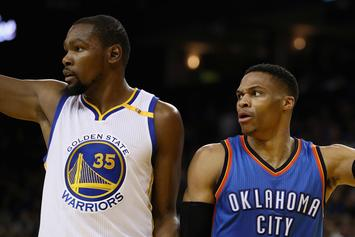 "Kevin Durant Says Confrontation With Russell Westbrook Was ""Not Real"""
