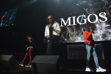 "Migos' ""MotorSport"" With Nicki Minaj & Cardi B Goes Gold"