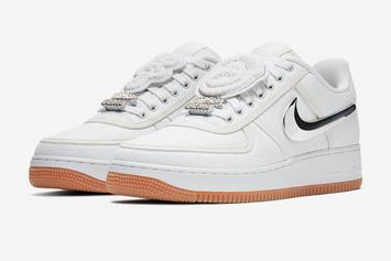 Travis Scott's Nike Air Force 1 Collab: Official Images & Release Details