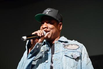"""Jay Z & Jaz-O Reunite At """"4:44"""" Show In Chicago"""