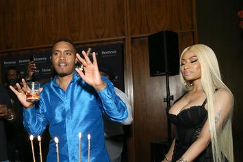 "Nas Calls Nicki Minaj ""The Queen Of New York"" In Birthday Message"