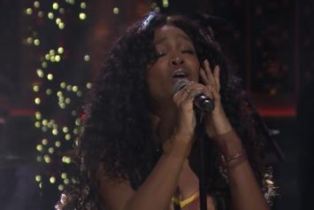"""SZA Performs """"Supermodel"""" On """"Tonight Show with Jimmy Fallon"""""""