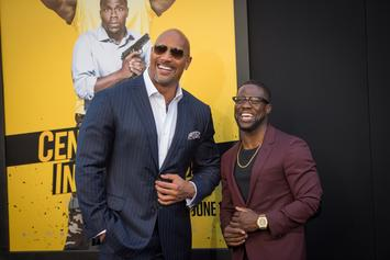 """Kevin Hart Endorses Dwayne """"The Rock"""" Johnson's Presidential Ambitions"""