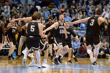 Wofford Basketball Stuns UNC For First Top-25 Upset In School History