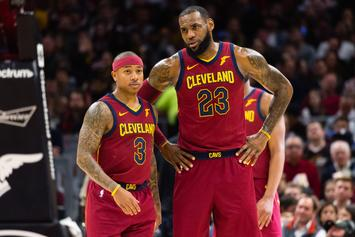 Isaiah Thomas Receives Standing Ovation; Drops 17 Pts In Cavs Debut