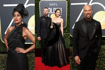 "Twitter Reacts To Stars' ""Black Out"" Of Golden Globes Red Carpet"