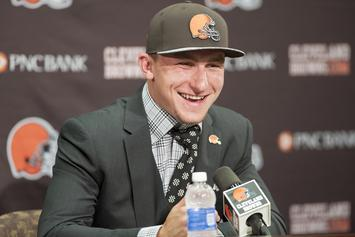 Johnny Manziel Trolls Cleveland Browns After Winless Season