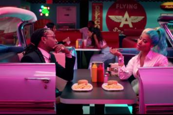 "Quavo & Nicki Minaj Go Back In Time For ""She For Keeps"" Video"