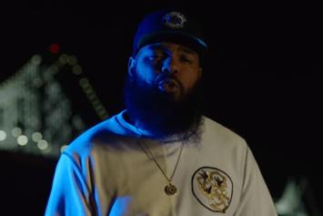 """Stalley Cruises The Streets In His Porsche 911 In New Video For """"Squattin'"""""""