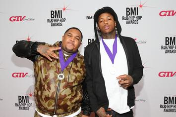 YG Previews New Music With DJ Mustard In The Studio