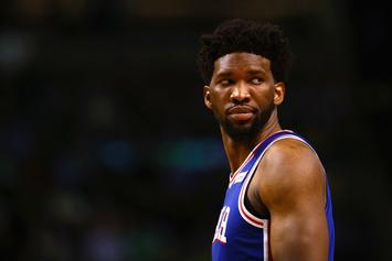 """Joel Embiid Says He's Over Rihanna: """"On To The Next One"""""""