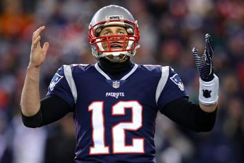 """Tom Brady Listed As Questionable For AFC Championship: """"We'll See"""""""