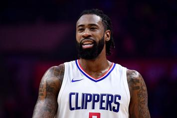 Blazers Engage Clippers On DeAndre Jordan Trade Talk: Report