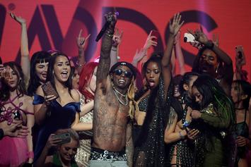 Lil Wayne Performs While Surrounded By Porn Stars At AVN Awards