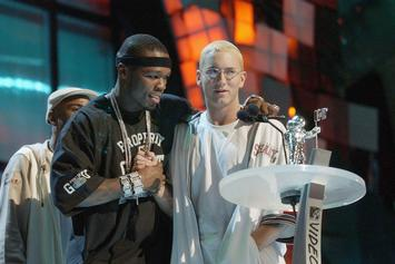 "50 Cent Tributes Eminem On Anniversary Of ""Get Rich Or Die Tryin"""