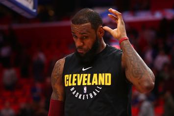 """LeBron James Reportedly Cursed At Cavs Execs In """"Heated Meeting"""""""