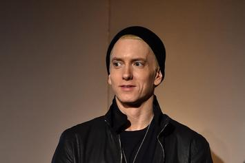 Eminem Cuddles Up With Possible Girlfriend In New Video