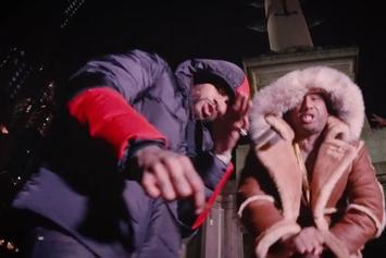 """Maino Links Up With Dave East & Jaque For New Video """"Bag Talk"""""""