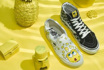 SpongeBob x Vans Collection Launches This Week