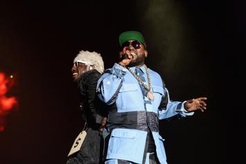"""Andre 3000 And Big Boi Meet Up For """"Unsolved"""" Premiere"""