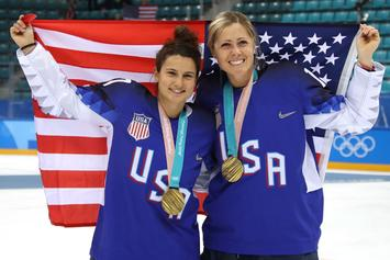 U.S. Women's Hockey Wins Gold For First Time In 20 Years