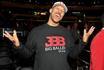 "LaVar Ball Lip-Sync Battles Lonzo Ball With Off-Kilter ""Hate Me Now"" Cover"