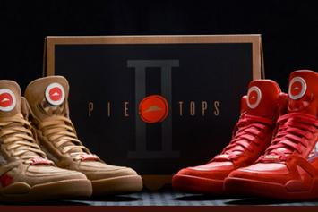 "Pizza Hut Unveils ""Pie Top II"" Sneakers For NCAA Tournament"