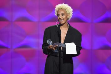 """Watch Solange Perform """"Cranes In The Sky"""" and """"Don't Touch My Hair"""" (With Sampha) On SNL"""