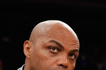 Charles Barkley Is Taking On Ernie Johnson In A 3 Point Shootout Tonight