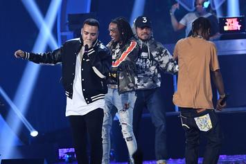 French Montana Teases New Music With Quavo & Chance The Rapper