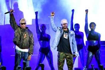 """N.E.R.D. Closes Out iHeartRadio Music Awards With Performance of """"Lemon"""""""