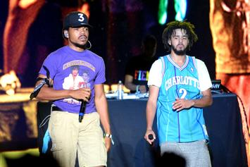 Chance The Rapper Crashes J. Cole & Bryson Tiller's Sets At Bonnaroo