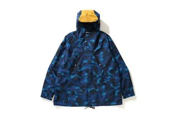 BAPE Debuts Two New Camo Print Anoraks