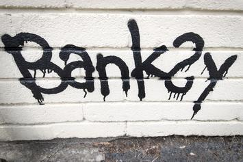 Banksy Piece Surfaces In New York City