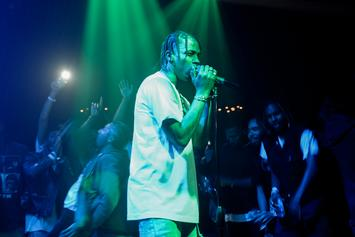 Travi$ Scott Snapped At A Guy Who Mistook Him For ASAP Rocky