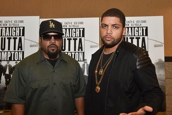 """""""Straight Outta Compton"""" Rakes In $56 Million In Historic Opening Weekend"""