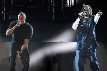 Snoop Dogg Back In The Studio With Dr. Dre