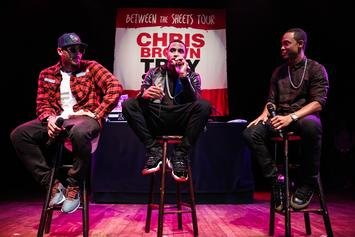 "Chris Brown, Trey Songz & Tyga Discuss Upcoming Tour, ""Loyal"", ""Fan Of A Fan"""