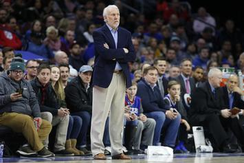 Gregg Popovich Criticizes Donald Trump for Missing March For Our Lives Protests