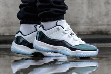 "Air Jordan 11 Low ""Iridescent"" To Release This Weekend"