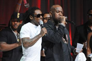 Lil Wayne Attends Birdman's Album Launch