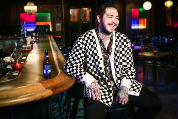 Post Malone Challenges Stranger To Visit Bar In Inflatable T-Rex Costume