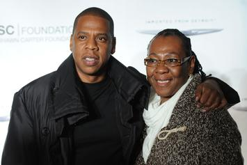 """Jay Z Explains Why He Cried When His Mother Came Out: """"She Was Free"""""""