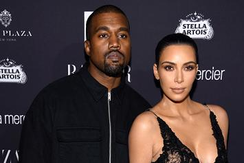 Kanye West And Kim Kardashian Receive Custom Tesla