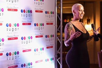 "Amber Rose Parodies ""Psycho"" Shower Scene To Promote Sex Toy Line"