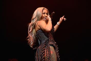 "Cardi B Serves As Co-Host & Performs ""Money Bag"" On Jimmy Fallon"