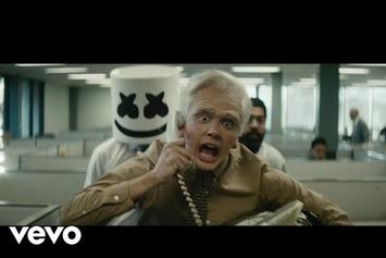 """Logic Morphs Into An Old Man In Marshmello-Assisted """"Everyday"""" Video"""