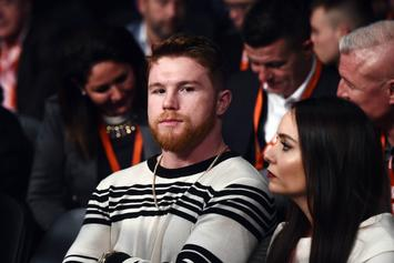 Canelo Alvarez Suspended For Failed PED Tests