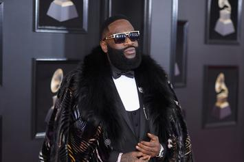 "Rick Ross Reveals Art For ""No Games"" Remix, It Features Meek Mill & Wale"