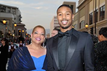 """Michael B. Jordan's Mom Encouraged Him To Be The """"Leading Man"""" In Movies"""